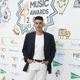 Álvaro Benito en la cena de nominados de Los 40 Music Awards 2021