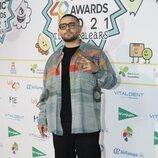 Rocco Hunt en la cena de nominados de Los 40 Music Awards 2021