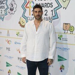 Melendi en la cena de nominados de Los 40 Music Awards 2021