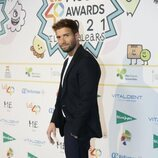 Pablo Alborán en la cena de nominados de Los 40 Music Awards 2021