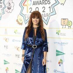 Vanesa Martín en la cena de nominados de Los 40 Music Awards 2021