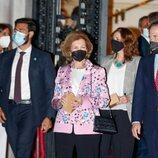 La Reina Sofía en la entrega de los Premios Sociales Fundación MAPFRE 2020