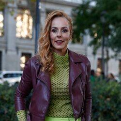 Rocío Carrasco en el desfile de Palomo Spain