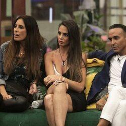 Isabel Rábago, Cynthia Martínez y Luis Rollán en la cuarta gala de 'Secret Story'