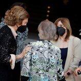La Reina Sofía e Irene de Grecia en el concierto por el 30 aniversario de la Escuela Superior de Música Reina Sofía