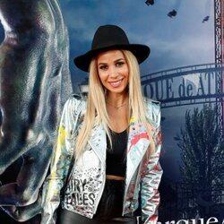 Natalia en la fiesta de Halloween del Parque de Atracciones de Madrid 2021