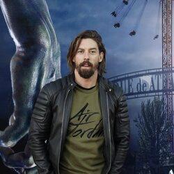 Adrián Lastra en la fiesta de Halloween del Parque de Atracciones de Madrid 2021