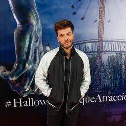 Blas Cantó en la fiesta de Halloween del Parque de Atracciones de Madrid 2021