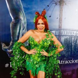 Amor Romeira en la fiesta de Halloween del Parque de Atracciones de Madrid 2021