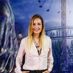Mireia Montávez en la fiesta de Halloween del Parque de Atracciones de Madrid 2021