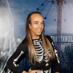 Aless Gibaja en la fiesta de Halloween del Parque de Atracciones de Madrid 2021