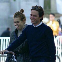 Beatriz de York y Edoardo Mapelli Mozzi en su reaparición tras ser padres