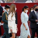 La Reina Letizia y la Infanta Sofía en el Día de la Hispanidad 2021