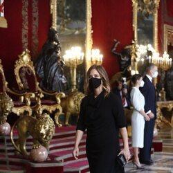 María Casado en la recepción del Día de la Hispanidad 2021
