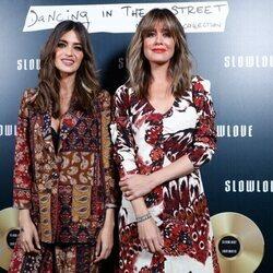 Sara Carbonero e Isabel Jiménez en el evento Slowlove