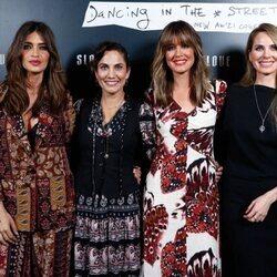 Toni Acosta, Sara Carbonero, Isabel Jiménez y Vanesa Romero en el evento Slowlove