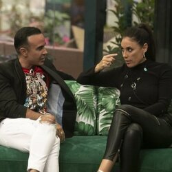 Luis Rollán e Isabel Rábago durante la gala 5 de 'Secret Story'