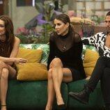 Adara, Cristina Porta y Luca Onestini durante la gala 5 de 'Secret Story'