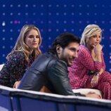 Terelu, Alba Carrillo y Gianmarco Onestini durante la gala 5 de 'Secret Story'
