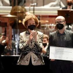 La Reina Sofía preside el concierto de la obra ganadora de la 38ª edición Premio Reina Sofía de Composición musical