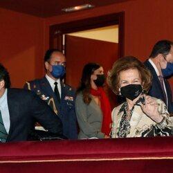 La Reina Sofía acude al concierto de la obra ganadora de la 38ª edición Premio Reina Sofía de Composición musical