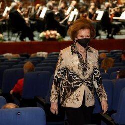 La Reina Sofía en el estreno de la obra galardonada por los Premios Reina Sofía de Composición