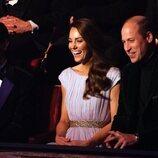 El Príncipe Guillermo y Kate Middleton con Jason Knauf en los Premios Earthshot 2021