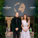 El Príncipe Guillermo y Kate Middleton en los Premios Earthshot 2021 en Londres