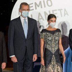 Los Reyes Felipe y Letizia en el Premio Planeta 2021