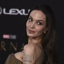 Angelina Jolie en la premiere de la película 'Eternals' en Los Angeles