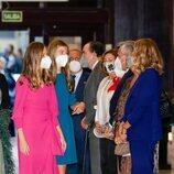 La Princesa Leonor y la Infanta Sofía en el Concierto Premios Princesa de Asturias 2021