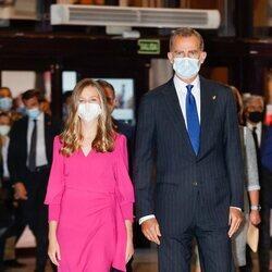 El Rey Felipe y la Princesa Leonor en el Concierto Premios Princesa de Asturias 2021