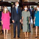 Los Reyes Felipe y Letizia, la Princesa Leonor y la Infanta Sofía en el Concierto Premios Princesa de Asturias 2021