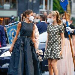 La Reina Letizia y la Princesa Leonor en los Premios Princesa de Asturias 2021