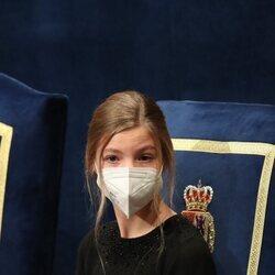 La Infanta Sofía en la ceremonia de entrega de los Premios Princesa de Asturias 2020