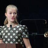 La Princesa Leonor en su discurso en los Premios Princesa de Asturias 2021