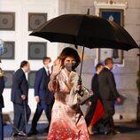La Reina Sofía tras la gala de los Premios Princesa de Asturias 2021