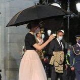 La Infanta Sofía tras la gala de los Premios Princesa de Asturias 2021