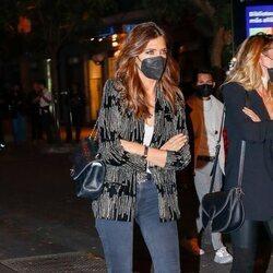 Sara Carbonero tras acudir a un concierto de Kiki Morente en Madrid