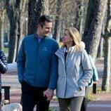 La Infanta Cristina e Iñaki Urdangarin se dedican una tierna mirada en Vitoria