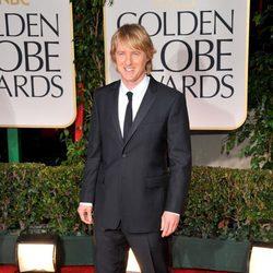 Owen Wilson en la alfombra roja de los Globos de Oro 2012