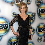 Jane Fonda en la fiesta HBO tras los Globos de Oro 2012