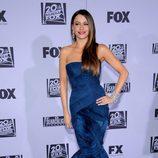 Sofía Vergara en la fiesta Fox tras los Globos de Oro 2012