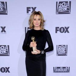 Jessica Lange en la fiesta Fox tras los Globos de Oro 2012