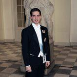 Felipe de Grecia en la celebración de los 40 años en el trono de Margarita de Dinamarca