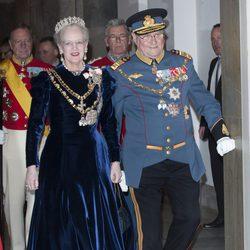 Margarita y Enrique de Dinamarca celebran los 40 años en el trono de la Reina