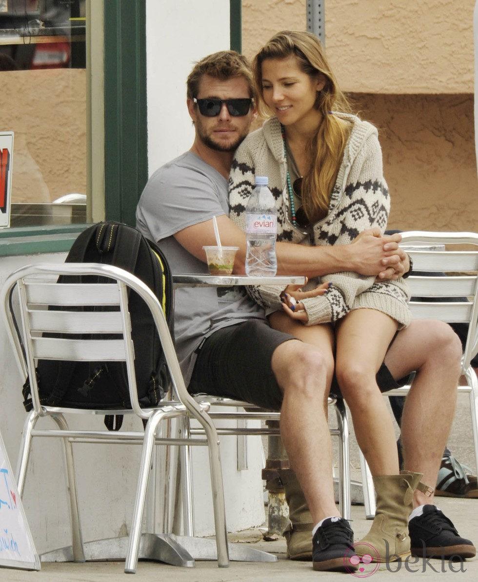 Elsa Pataky y Chris Hemsworth en Venecia