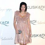 Giselle Calderón en la gala promocional de Euskadi en Fitur