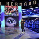 Mercedes Milá durante la primera gala de 'Gran Hermano 12+1'