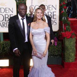 La modelo Heidi Klum y el cantante Seal